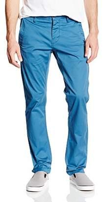G Star Men's Trouser, brnsn SLM Chino, Premium Micro str tw, Retro Blue, 937, Blue, 30W x 34L