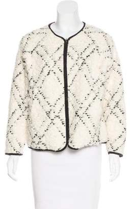 Ulla Johnson Bouclé Knit Jacket