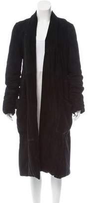 Urban Zen Suede Long Coat