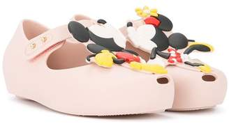 Mini Melissa Mickey and Minnie ballerinas