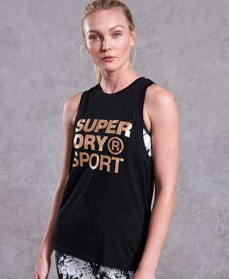 Superdry Active Studio Boyfriend Tank Top