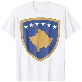 Kosovo coat of arms T-shirt Tee Tees T Shirt Tshirt