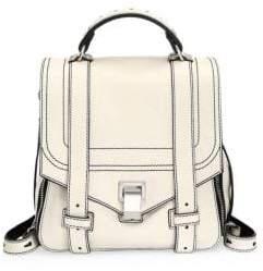 Proenza Schouler Ps1+ Zip Leather Backpack