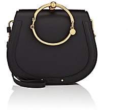 Chloé Women's Nile Medium Leather Crossbody Bag-Black