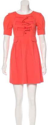 See by Chloe Bow-Accented Mini Dress