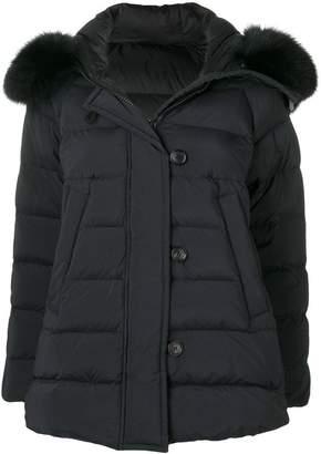 Peuterey fur collar padded jacket