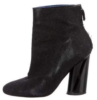 Proenza Schouler Felt Ankle Boots