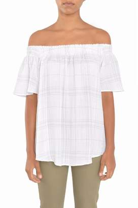 Tylho White Off Shoulder Top