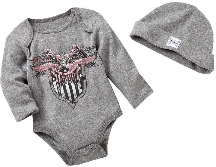Tapout bodysuit amp knit cap set baby sold out thestylecure com
