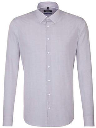 Seidensticker Micro Dot Cotton Sport Shirt