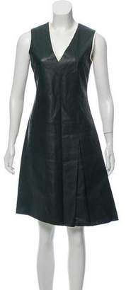 Reed Krakoff Knee-Length Leather Dress w/ Tags