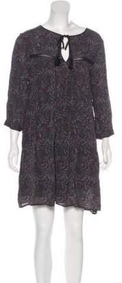 BA&SH Mini Smock Dress