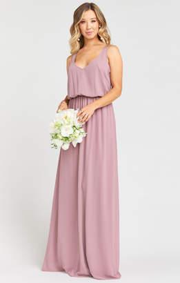 Show Me Your Mumu Kendall Maxi Dress ~ Antique Rose Chiffon