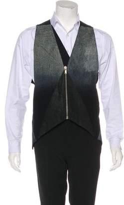Rick Owens Gradient Chambray Vest
