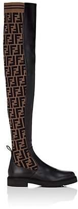 Fendi Women's Rockoko Over-The-Knee Boots