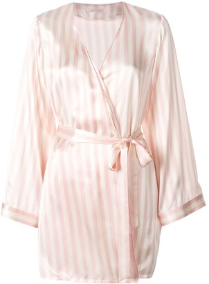 Morgan Lane Langley striped robe