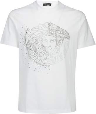 Versace Medusa Studded T-Shirt