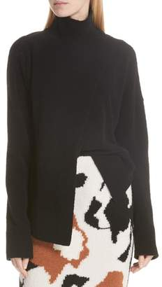 Christian Wijnants Asymmetrical High Neck Sweater