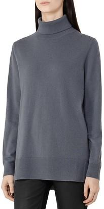 REISS Ina Merino-Wool Turtleneck Sweater $245 thestylecure.com