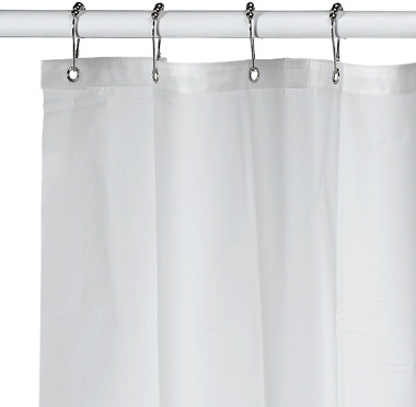 Soft Sensations™ Pure Clear EVA Shower Curtain Liner - XL