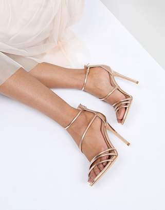 Office Harness Heeled Sandals