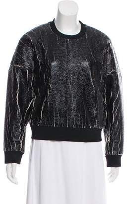 3.1 Phillip Lim Long Sleeve Knit Sweatshirt