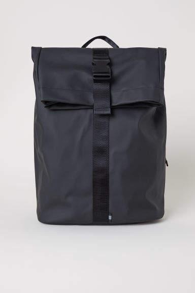 H&M - Rubber Backpack - Black