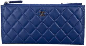 Chanel Navy Leather Purses, wallets & cases