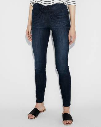 Express High Waisted Corset Front Jean Leggings