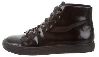 Tiger of Sweden Leather Mid-Top Sneakers