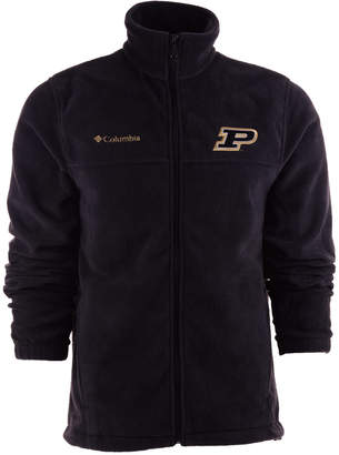 Columbia Men Purdue Boilermakers Flanker Full-Zip Fleece