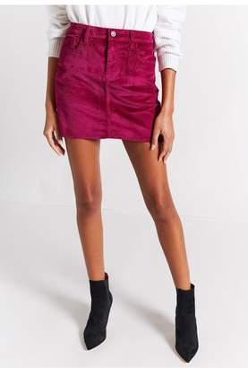 Current/Elliott The 5 Pocket Mini Skirt