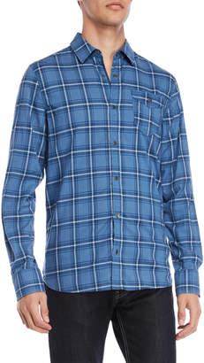 Buffalo David Bitton Somury Plaid Pocket Shirt