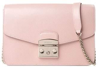 Furla Small Metropolis Pebbled-leather Shoulder Bag