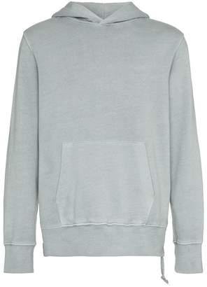 Ksubi front pocket cotton hoodie