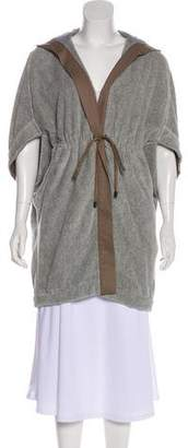 Brunello Cucinelli Hooded Knit Coat