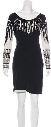 ALICE by Temperley Mini Sweater Dress