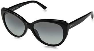 DKNY Women's Plastic Woman Cateye Sunglasses