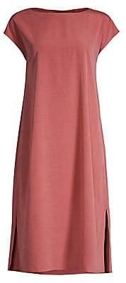 Eileen Fisher Women's Sandwashed T-Shirt Dress