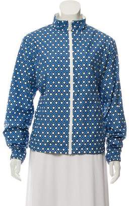 Tory Sport Long Sleeve Print Jacket