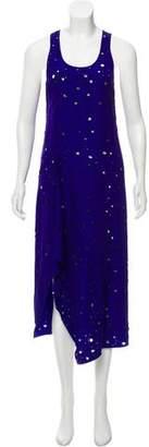 Reed Krakoff Distressed Maxi Dress