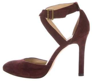 Rachel Zoe Pointed-Toe Ankle Strap Pumps