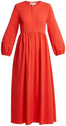 Mara Hoffman Paula balloon-sleeved organic-cotton dress