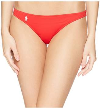 Polo Ralph Lauren Modern Solid Taylor Hipster Bottoms Women's Swimwear
