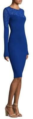 Versace Long-Sleeve Knit Bodycon Dress