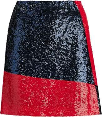 Ralph Lauren Sequinned Mesh Skirt