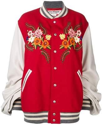 Junya Watanabe embroidered floral bomber jacket