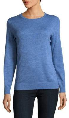 Lord & Taylor Knitted Wool Sweater