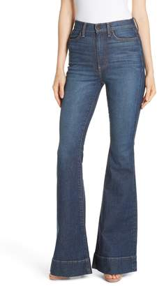 Alice + Olivia AO.LA by Beautiful High Waist Bell Bottom Jeans