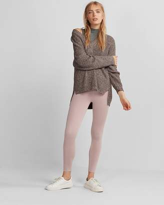Express High Waisted Sweater Leggings